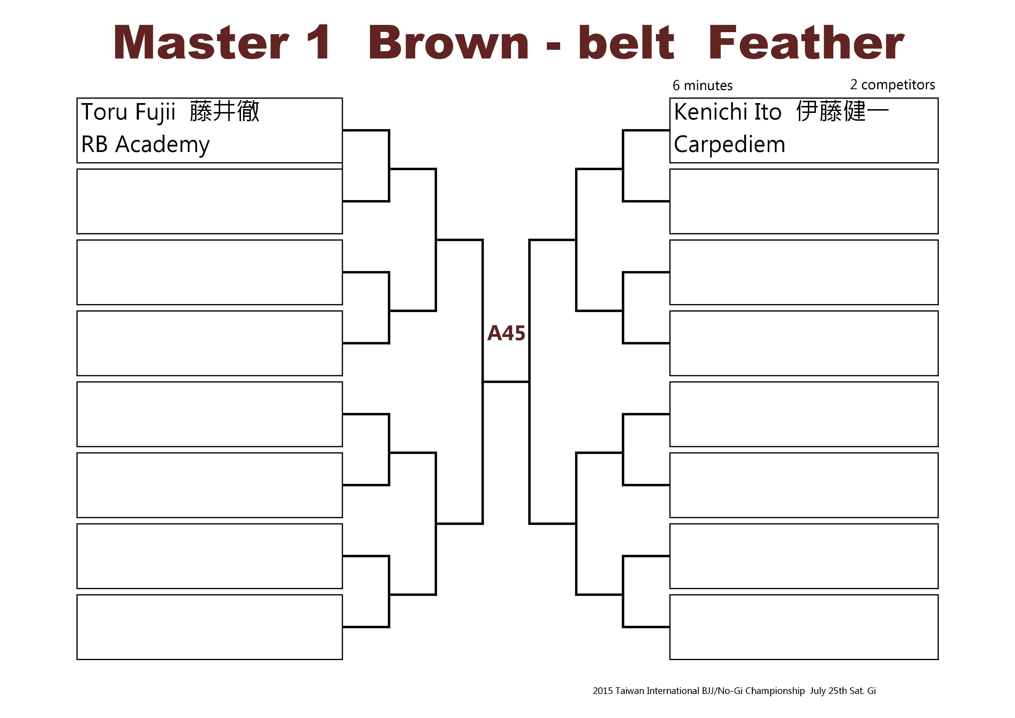 Bracket 4 Brown Master 2015-0002