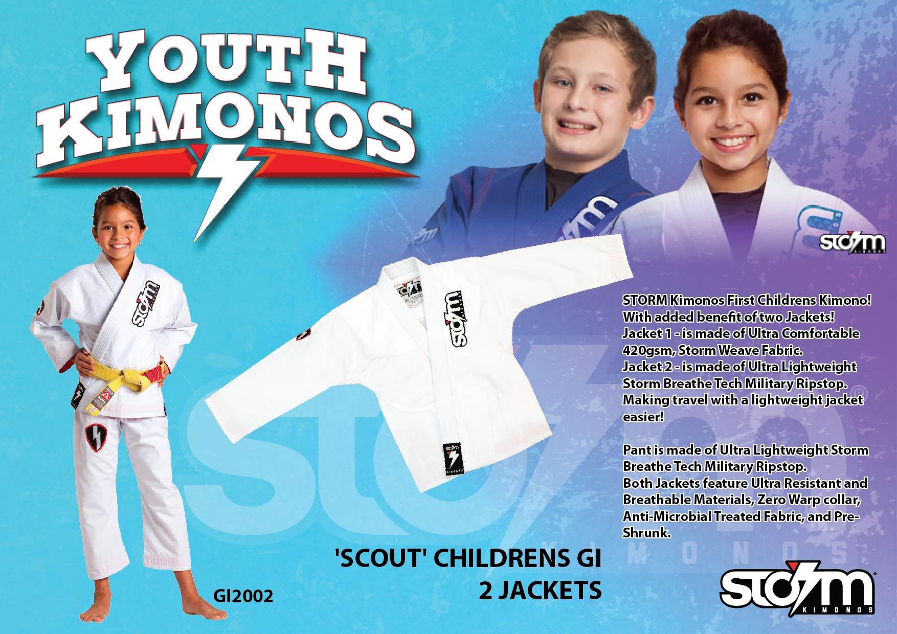 21 GI2002 STORM Kimonos® Scout - W