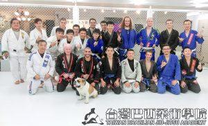 台灣巴西柔術學院台中分館2016年終