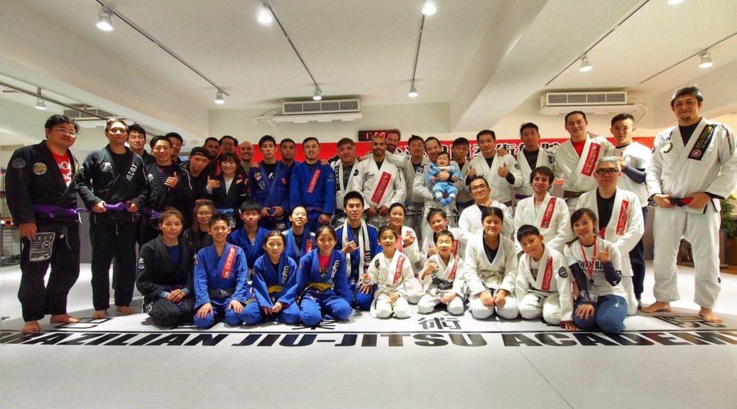 台灣巴西柔術基隆分館
