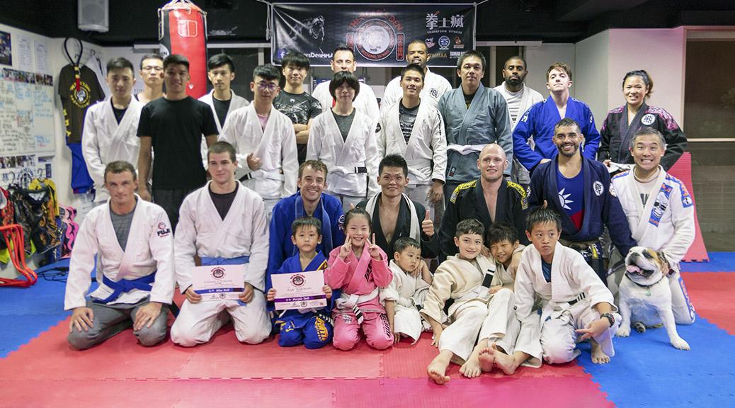 台中巴西柔術及綜合格鬥學院