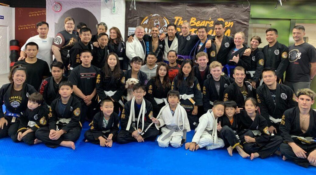 台中巴西柔術及MMA學院 The Bear's Den BJJ and MMA